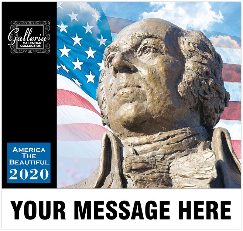 America The Beautiful Wall Calendar