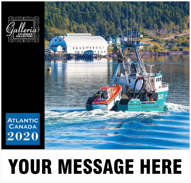 Scenes Of Atlantic Canada Wall Calendar