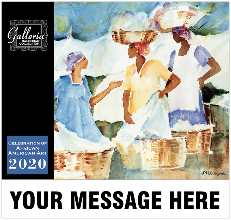 Celebration Of African American Art Wall Calendar