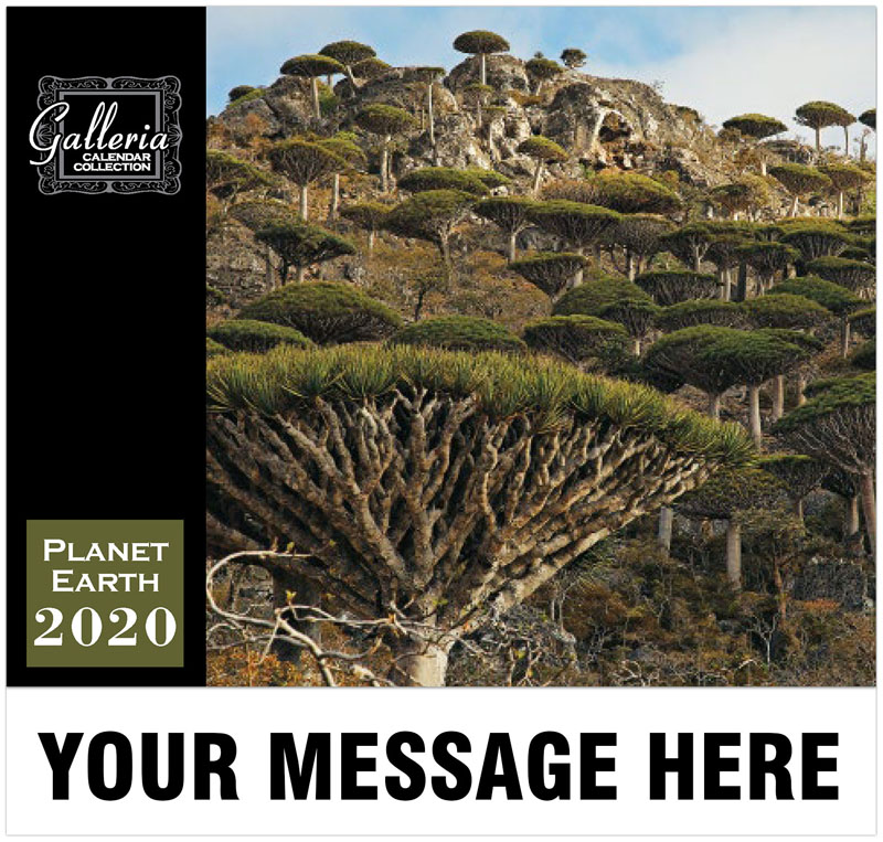 Planet Earth Wall Calendar