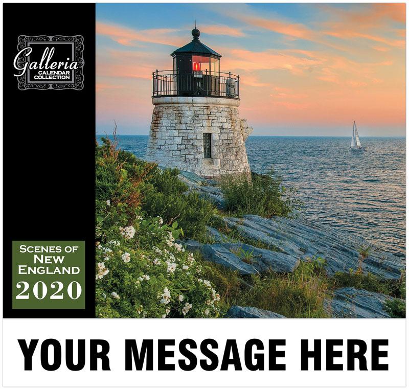 Scenes Of New England Wall Calendar