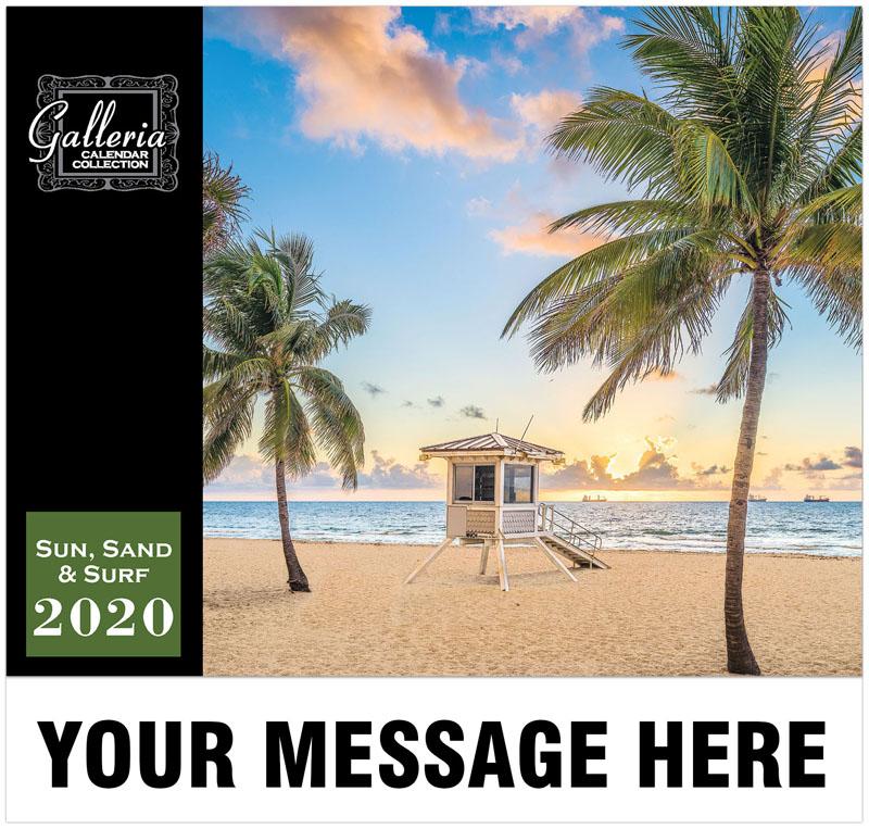 Sun, Sand & Surf Wall Calendar