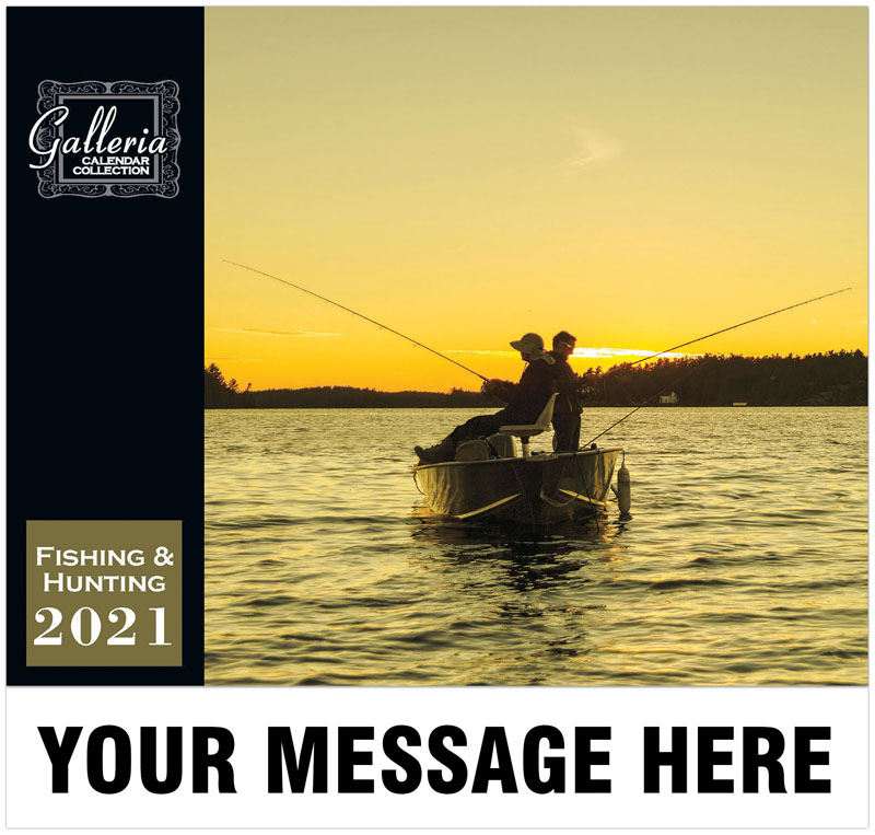 Hunting and Fishing Wall Calendar
