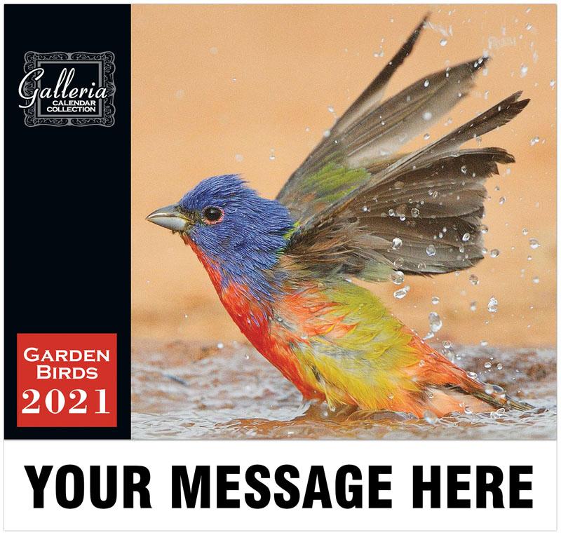Garden Birds Wall Calendar