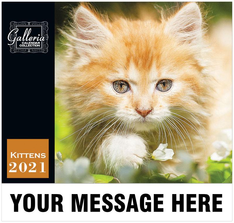 Kittens Wall Calendar