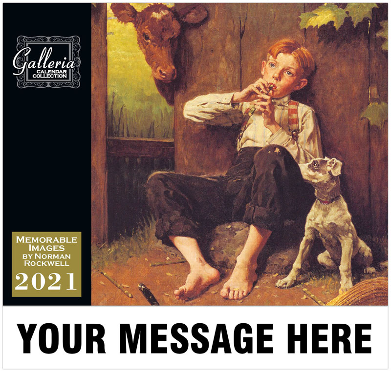Memorable Images By Norman Rockwell Wall Calendar