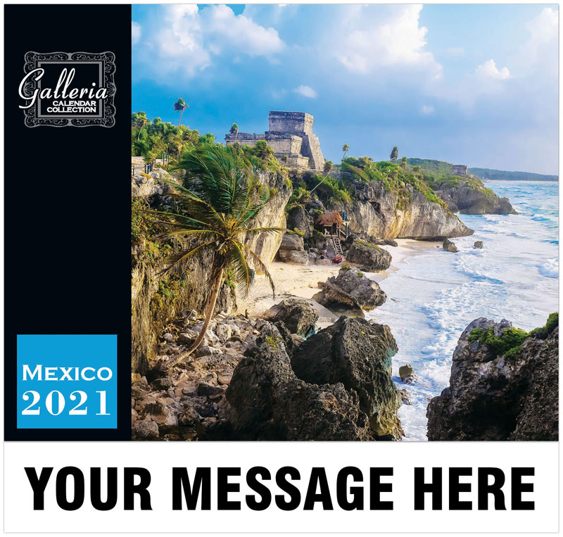 Scenes Mexico (English/Spanish) Wall Calendar