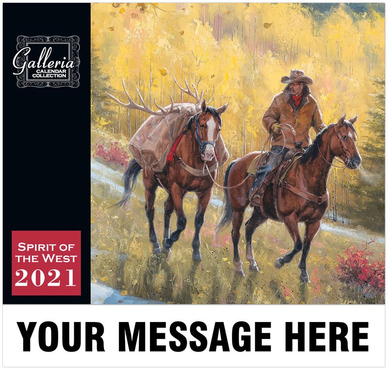 Spirit Of The West Wall Calendar