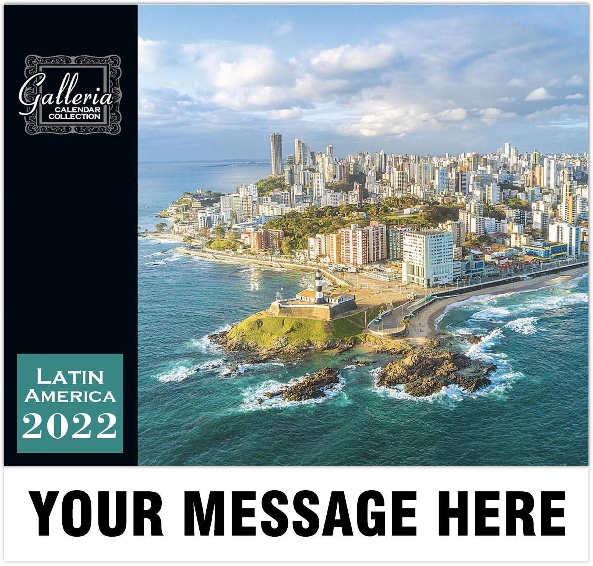 Beauty Of Latin America Wall Calendar