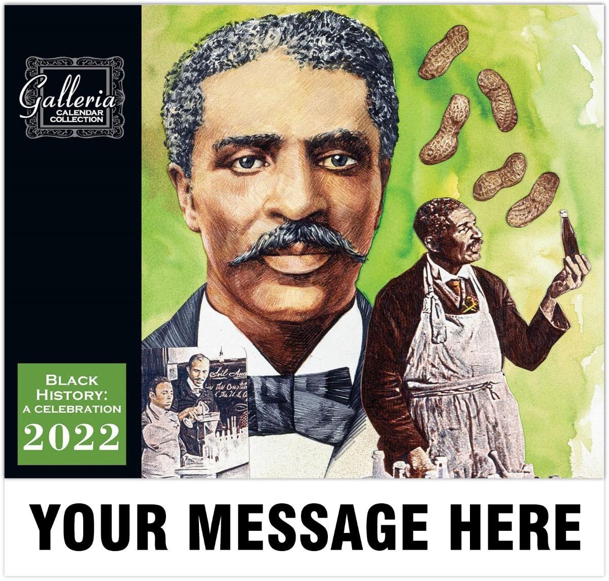 Black History Celebration Wall Calendar