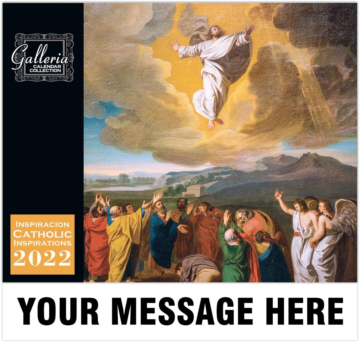 Catholic Inspiration (English/Spanish) Wall Calendar