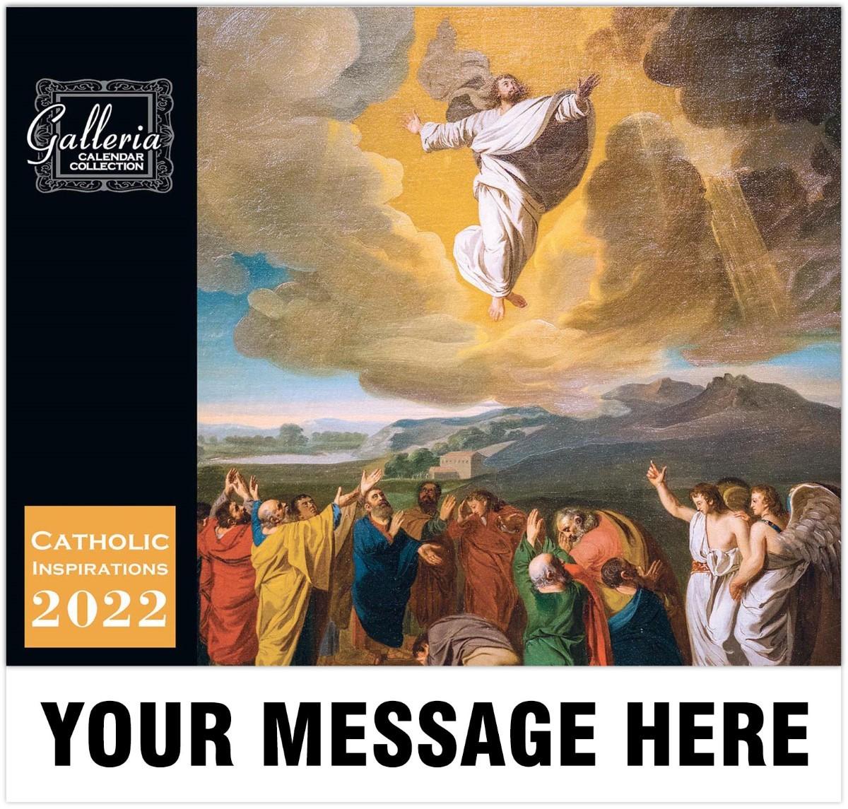 Catholic Inspiration (English) Wall Calendar