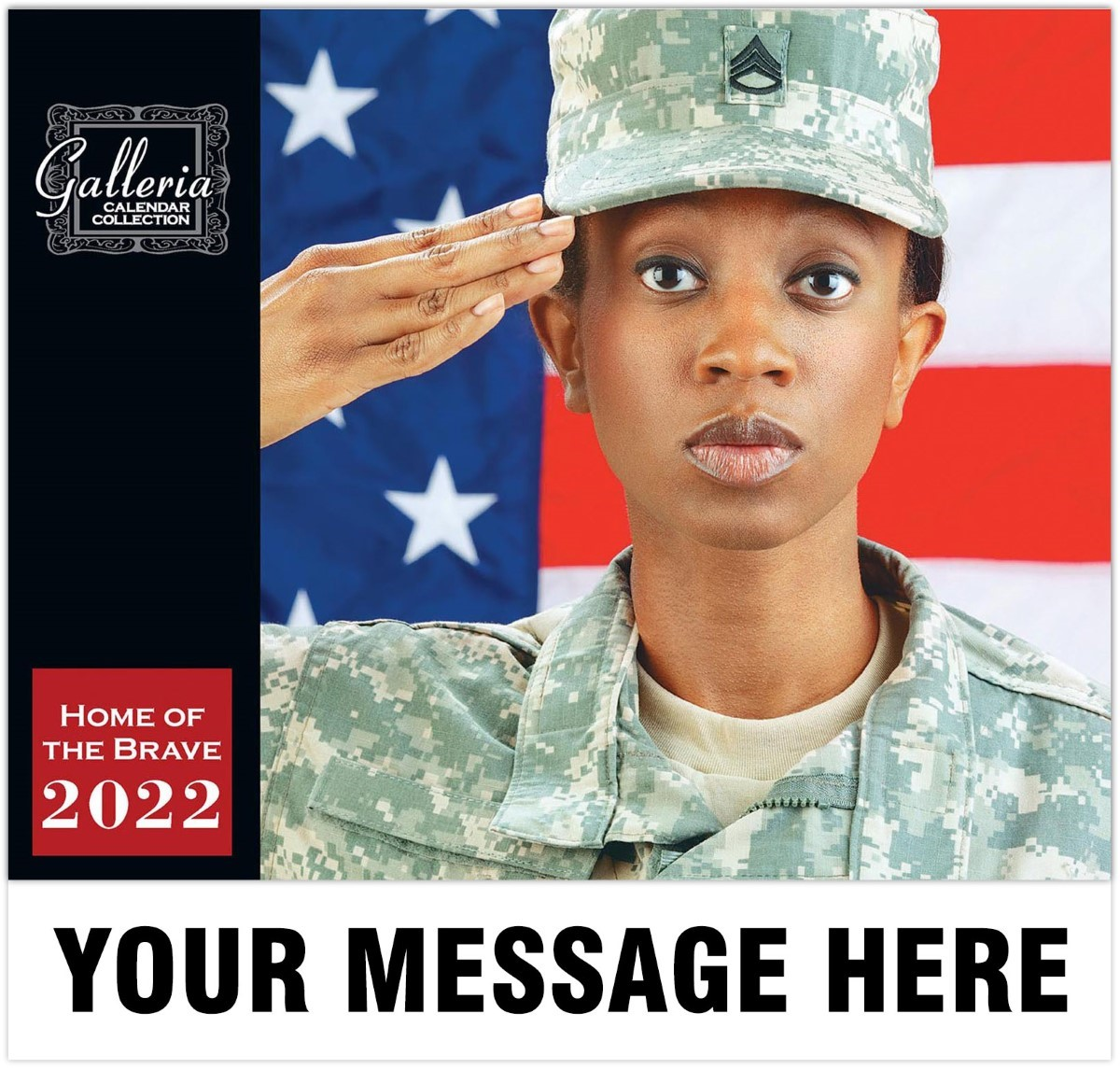 Home Of The Brave Wall Calendar